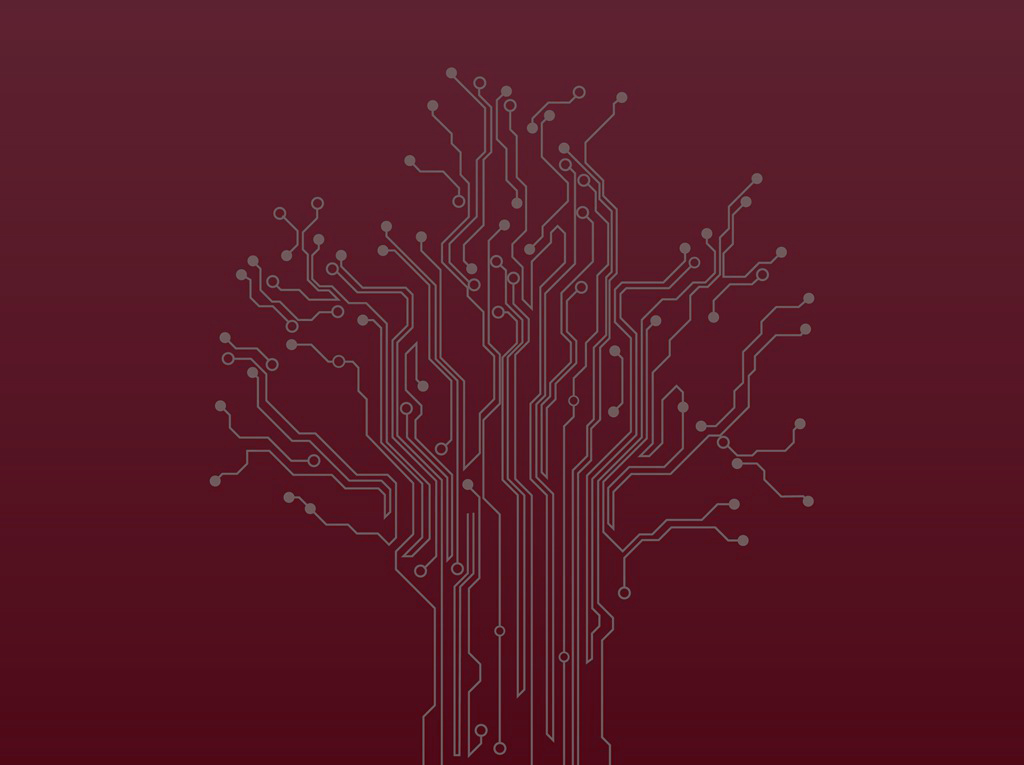 freevector-circuit-tree-vector